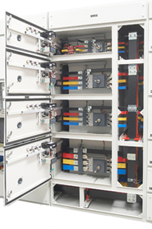 BUSBAR ARRANGEMENT FOR OUTGOING FEEDERS
