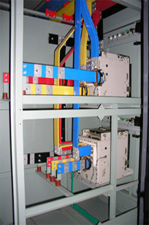 BUSBARS FOR TWO TIER ACB